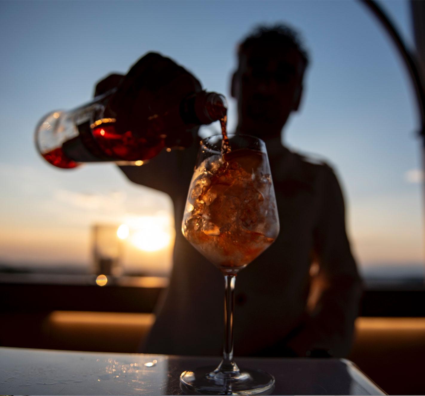 Cocktail ridimensionato